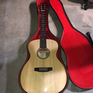 Recording King Acoustic Guitar With Case for Sale in Castro Valley, CA
