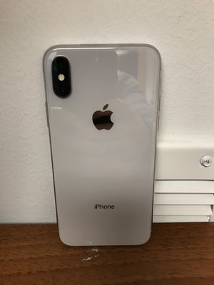 SALE: Unlocked iPhone X 64gb Used Silver Excellent Condition for Sale in Royal Oak, MI