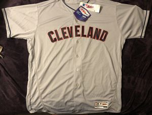 Cleveland Indians Majestic Authentic Collection Flex Base Baseball Jersey for Sale in Industry, CA