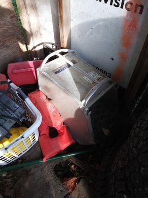 Aluminum bagger for a self propelled Honda lawn mower for Sale in Granite Falls, WA