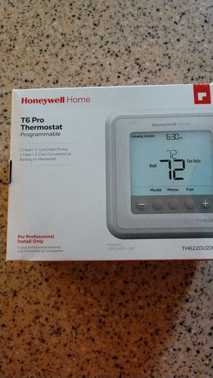Honeywell T6 Pro Programmable Thermostat for Sale in Erial, NJ