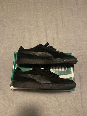 Black Suede Pumas for Sale in Antioch, CA