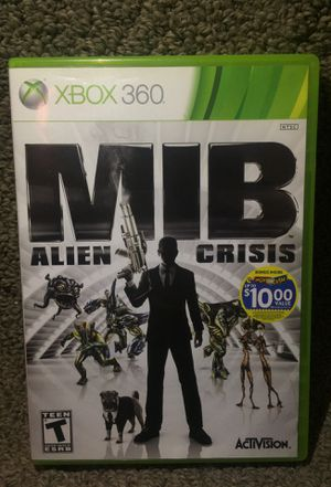 """MIB: Alien Crisis"" for Microsoft Xbox 360 in Like New Condition! for Sale in Phoenix, AZ"