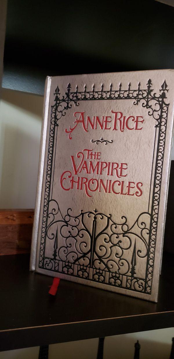 Book Anne rice the Vampire