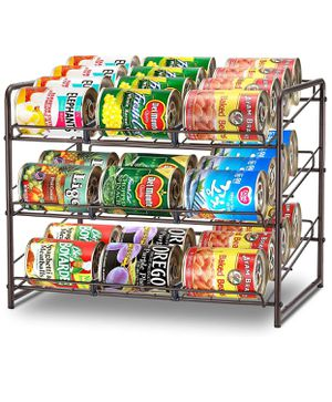 Simple Trending Can Rack Organizer, Stackable Can Storage Dispenser for Sale in Los Angeles, CA