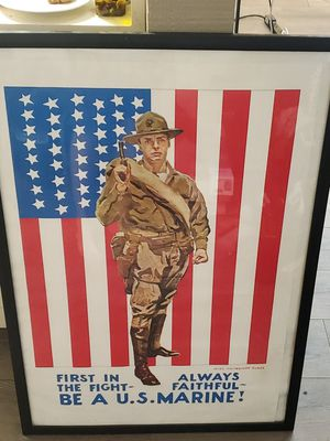 USMC Poster for Sale in Westminster, CA