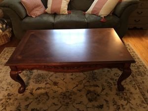 Large wood coffee table for Sale in St. Louis, MO
