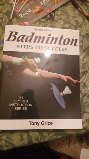 Badminton steps to success sports book for Sale in Long Beach, CA