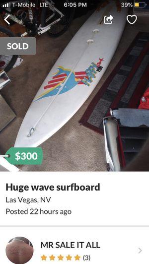 Huge Wave Surfboard 9' for Sale in Las Vegas, NV