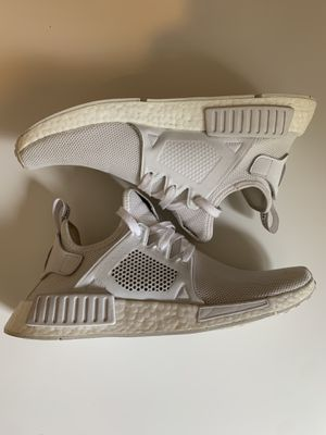 Adidas NMD xr1 Triple White for Sale in Wilmington, MA