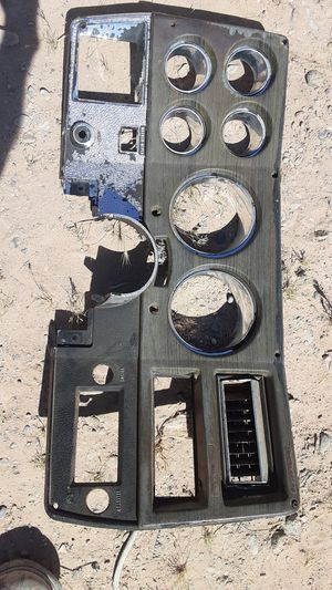 GAUGE CLUSTER COVER AND RADIATOR SHROUD( SOLD SEPERATELY)! for Sale in Las Vegas, NV
