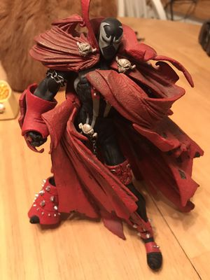 Spawn action figure with all of the capes for Sale in Eugene, OR