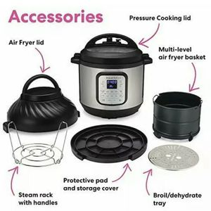 Instant Pot Duo Crisp + Air Fryer for Sale in Chino, CA