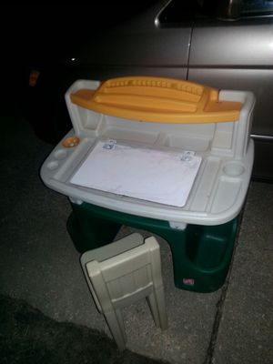 Kids activities desk and chair only 40 for Sale in Glen Burnie, MD