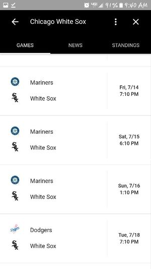Chicago white sox vs Mariners for Sale in Chicago, IL