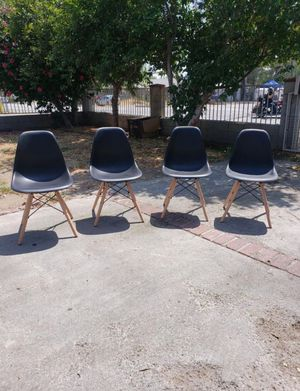 Set of Black Chairs. for Sale in Fontana, CA