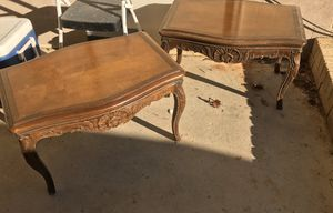 Two End/Side Tables for Sale in Northport, AL