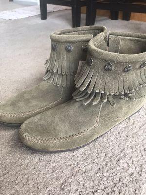 Minnetonka women's booties / shoes for Sale in Auburn, CA