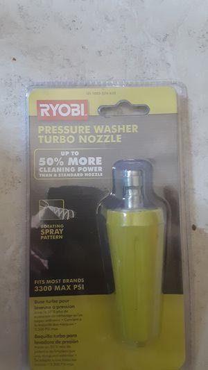 Pressure washer nozzle turbo BRAND new for Sale in Pasadena, CA