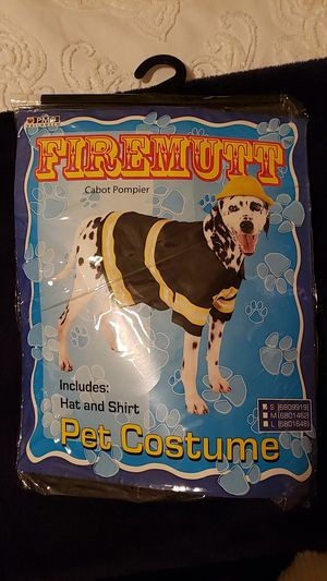 Firemutt Pet Costume for Sale in Joliet, IL