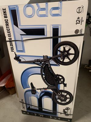 Jetson bolt pro foldable electric bicycle scooter bike for Sale in San Diego, CA