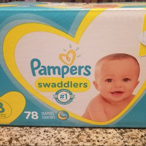 Pampers swaddlers Diapers Size 3 for Sale in Commerce, CA