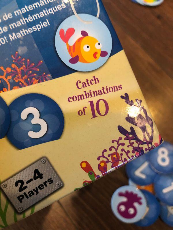 Math game - I Sea 10 game - ages 6+ - homeschool, teach math - CCSS