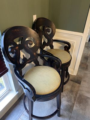 """Arhaus "" Swivel Counter stools (2) for Sale in North Royalton, OH"