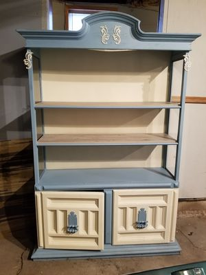 Booked shelve/display case/hutch for Sale in Shabbona, IL