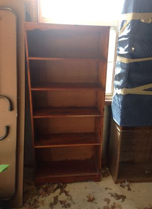 Wood book shelves for sale: various heights for Sale in Douglasville, GA