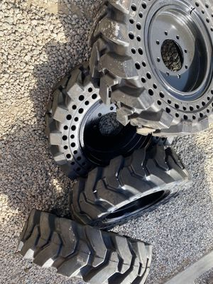 Solid bobcat tires 10x16.5 for Sale in Pomona, CA