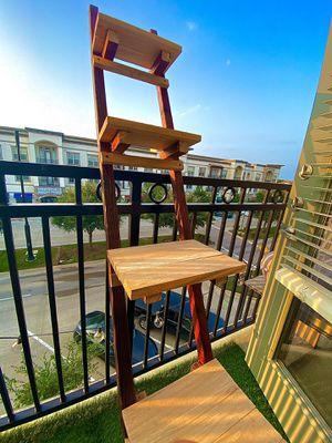 Homemade leaning ladder shelf for Sale in Grapevine, TX