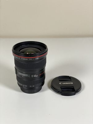 Canon 17-40mm f/4L Wide Angle Zoom Lens for Sale in Phoenix, AZ