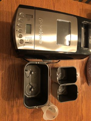 BK2000B Bm Bread Maker Black for Sale in Snohomish, WA