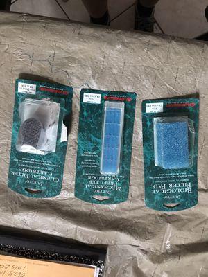 Aquarium filter cartridges and pad for Sale in Long Beach, CA