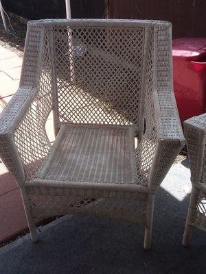 Patio wicker furniture for Sale in Stockton, CA