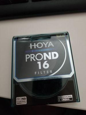 Hoya pro ND 16 77mm filter for Sale in Brandon, FL