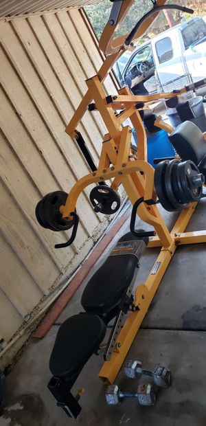 Powertec fitness workbench for Sale in Lawndale, CA