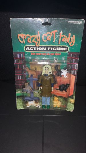 2004 Crazy Cat Lady action Figure for Sale in Gilbert, AZ