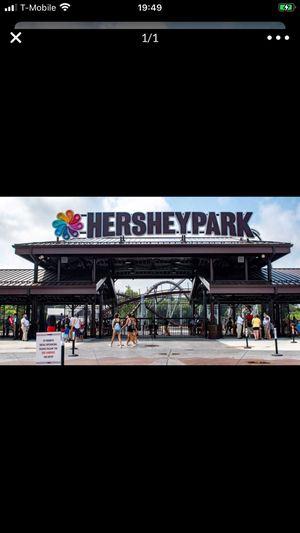 2 Summer season Hershey park tickets for Sale in Mount Joy, PA