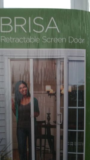 New retractable sliding door brissa for Sale in Riverdale, GA