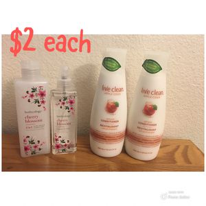 Cherry blossoms & conditioners for Sale in Phoenix, AZ