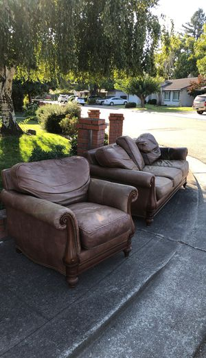 Free free free. $4000 dollar couch and chair for free for Sale in Stockton, CA