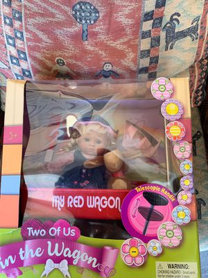 New doll in the wagon toy for Sale in Concord, CA