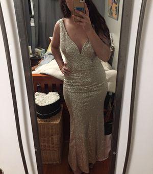 Silver/gold dress, size: medium/11 for Sale in Richmond, CA