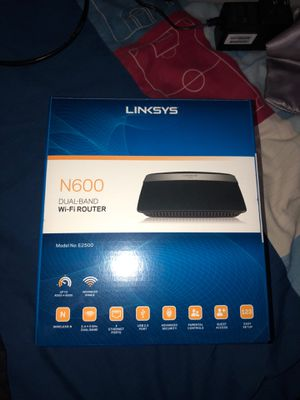 Linksys dual band wifi router for Sale in Bellmawr, NJ