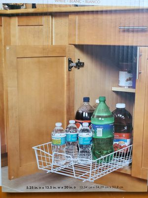 """NEW 14"""" Pull-Out Cabinet Organizer Retail $35 for Sale in Raleigh, NC"""