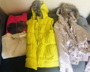 Various size sweaters and jacket for Sale in Citrus Heights, CA