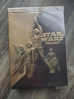 Star Wars trilogy dvd for Sale in Bradenton, FL