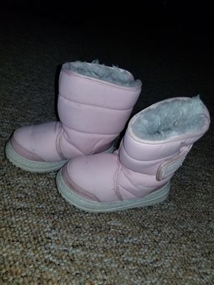 Infant/toddler Size 7 Pink Girls Winter Snow Boots for Sale in Norwalk, CT